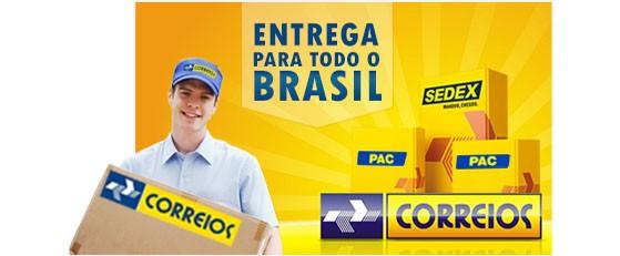 Entregas para todo Brasil